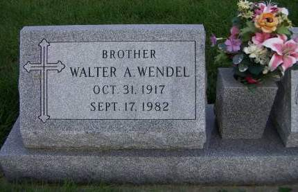 WENDEL, WALTER A. - Sioux County, Iowa | WALTER A. WENDEL
