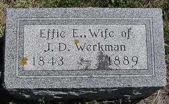 WERKMAN, EFFIE E. - Sioux County, Iowa | EFFIE E. WERKMAN
