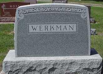 WERKMAN, HEADSTONE - Sioux County, Iowa   HEADSTONE WERKMAN