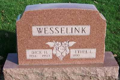 WESSELINK, DICK H. - Sioux County, Iowa   DICK H. WESSELINK
