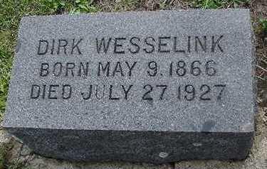 WESSELINK, DIRK - Sioux County, Iowa | DIRK WESSELINK