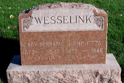 WESSELINK, HENRIETTA - Sioux County, Iowa | HENRIETTA WESSELINK