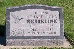 WESSELINK, RICHARD JOHN - Sioux County, Iowa | RICHARD JOHN WESSELINK