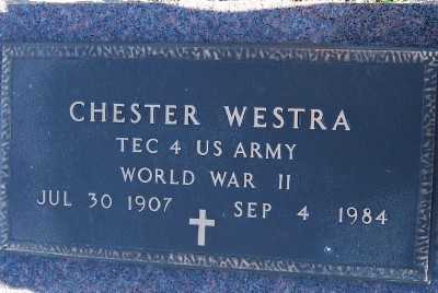 WESTRA, CHESTER - Sioux County, Iowa | CHESTER WESTRA