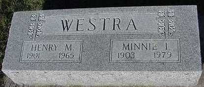 WESTRA, HENRY - Sioux County, Iowa | HENRY WESTRA