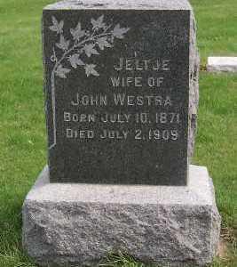 WESTRA, JELTJE (MRS. JOHN) - Sioux County, Iowa | JELTJE (MRS. JOHN) WESTRA