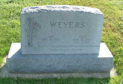 WEYERS, JOHN - Sioux County, Iowa | JOHN WEYERS