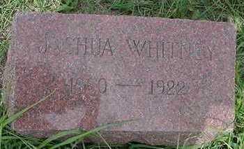 WHITNEY, JOSHUA - Sioux County, Iowa | JOSHUA WHITNEY