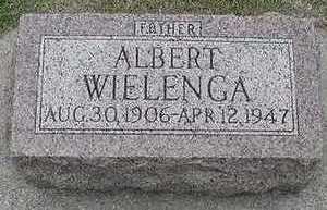 WIELENGA, ALBERT D.1947 - Sioux County, Iowa | ALBERT D.1947 WIELENGA