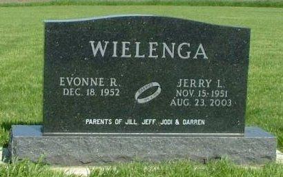 WIELENGA, JERRY L. - Sioux County, Iowa   JERRY L. WIELENGA