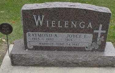 WIELENGA, RAYMOND A. - Sioux County, Iowa | RAYMOND A. WIELENGA