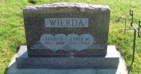 WOERDA, LUCILLE (MRS. LEWIS M.) - Sioux County, Iowa | LUCILLE (MRS. LEWIS M.) WOERDA