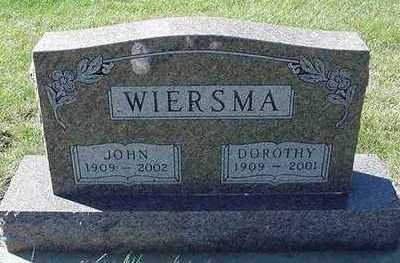 WIERSMA, JOHN - Sioux County, Iowa | JOHN WIERSMA