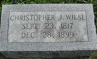 WIESE, CHRISTOPHER - Sioux County, Iowa | CHRISTOPHER WIESE