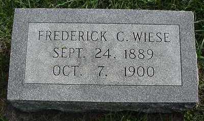 WIESE, FREDRICK C. - Sioux County, Iowa | FREDRICK C. WIESE