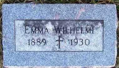 WILHELMI, EMMA - Sioux County, Iowa | EMMA WILHELMI
