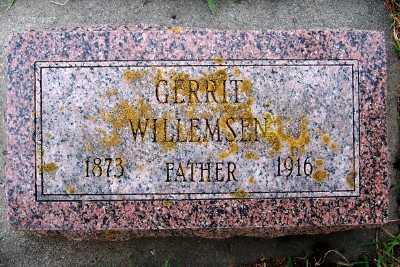 WILLEMSEN, GERRIT - Sioux County, Iowa | GERRIT WILLEMSEN