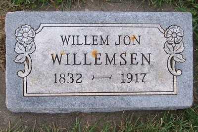 WILLEMSEN, WILLEM JON - Sioux County, Iowa | WILLEM JON WILLEMSEN
