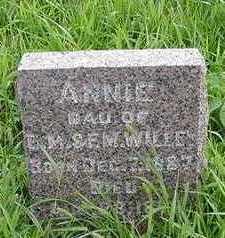 WILLEY, ANNIE (8 MOS.) - Sioux County, Iowa | ANNIE (8 MOS.) WILLEY
