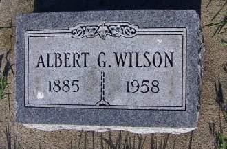 WILSON, ALBERT G. - Sioux County, Iowa   ALBERT G. WILSON