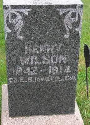 WILSON, HENRY - Sioux County, Iowa | HENRY WILSON