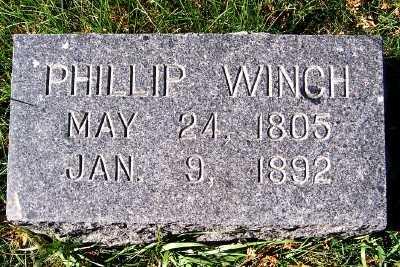 WINCH, PHILLIP - Sioux County, Iowa | PHILLIP WINCH