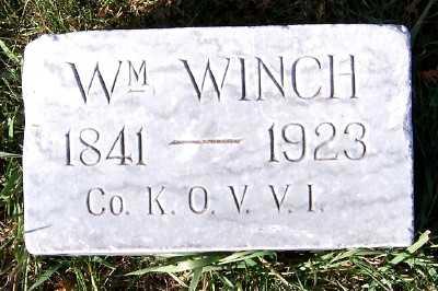 WINCH, WM. - Sioux County, Iowa | WM. WINCH