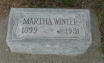 WINTER, MARTHA - Sioux County, Iowa | MARTHA WINTER