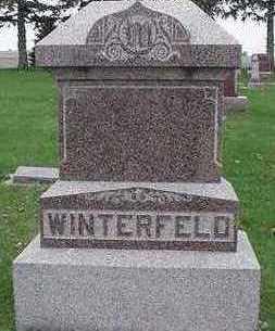 WINTERFELD, HEADSTONE - Sioux County, Iowa | HEADSTONE WINTERFELD