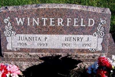 WINTERFELD, JUANITA P. - Sioux County, Iowa | JUANITA P. WINTERFELD
