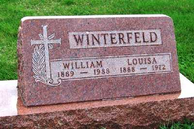 WINTERFELD, WILLIAM - Sioux County, Iowa | WILLIAM WINTERFELD
