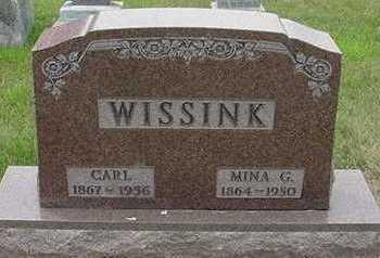 WISSINK, MINA - Sioux County, Iowa   MINA WISSINK