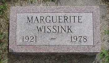 WISSINK, MARGUERITE - Sioux County, Iowa | MARGUERITE WISSINK