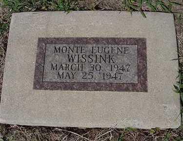 WISSINK, MONTE EUGENE - Sioux County, Iowa   MONTE EUGENE WISSINK
