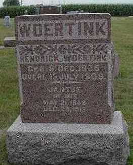 WOERTINK, HENDRIK - Sioux County, Iowa   HENDRIK WOERTINK