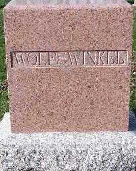 WOLFSWINKEL, HEADSTONE - Sioux County, Iowa | HEADSTONE WOLFSWINKEL