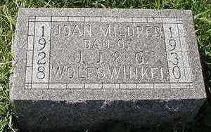 WOLFSWINKEL, JOAN MILDRED - Sioux County, Iowa | JOAN MILDRED WOLFSWINKEL