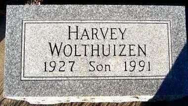 WOLTHUIZEN, HARVEY - Sioux County, Iowa   HARVEY WOLTHUIZEN