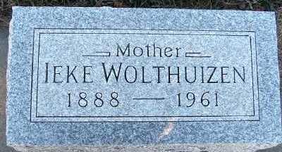 WOLTHUIZEN, IEKE - Sioux County, Iowa | IEKE WOLTHUIZEN