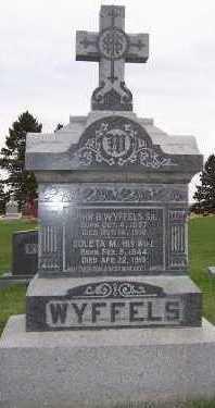 WYFFELS, COLETA M. - Sioux County, Iowa | COLETA M. WYFFELS