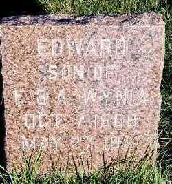 WYNIA, EDWARD (SON OF F. & A.) - Sioux County, Iowa | EDWARD (SON OF F. & A.) WYNIA