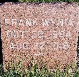 WYNIA, FRANK - Sioux County, Iowa | FRANK WYNIA