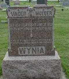 WYNIA, VADER (FATHER) - Sioux County, Iowa | VADER (FATHER) WYNIA
