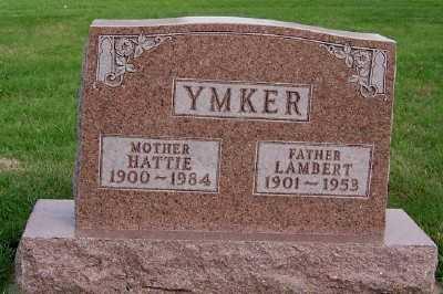 YMKER, HATTIE - Sioux County, Iowa | HATTIE YMKER