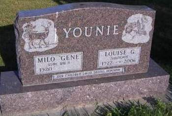 YOUNIE, LOUISE G. - Sioux County, Iowa | LOUISE G. YOUNIE