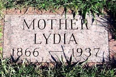 YUNKER, LYDIA - Sioux County, Iowa | LYDIA YUNKER