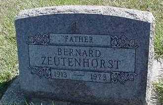 ZEUTENHORST, BERNARD - Sioux County, Iowa | BERNARD ZEUTENHORST