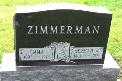 ZIMMERMAN, EMMA - Sioux County, Iowa | EMMA ZIMMERMAN