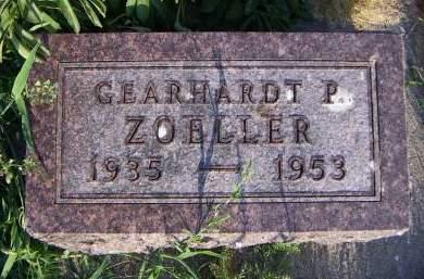 ZOELLER, GEARHARDT P. - Sioux County, Iowa | GEARHARDT P. ZOELLER