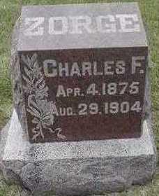ZORGE, CHARLES F. - Sioux County, Iowa | CHARLES F. ZORGE